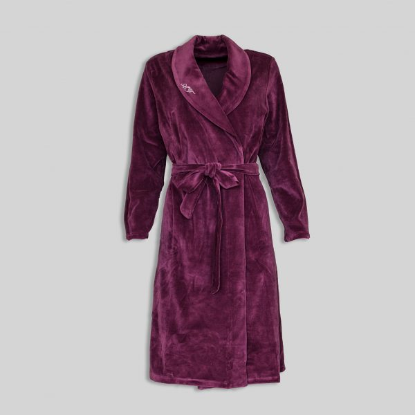 Домашен плюшен халат