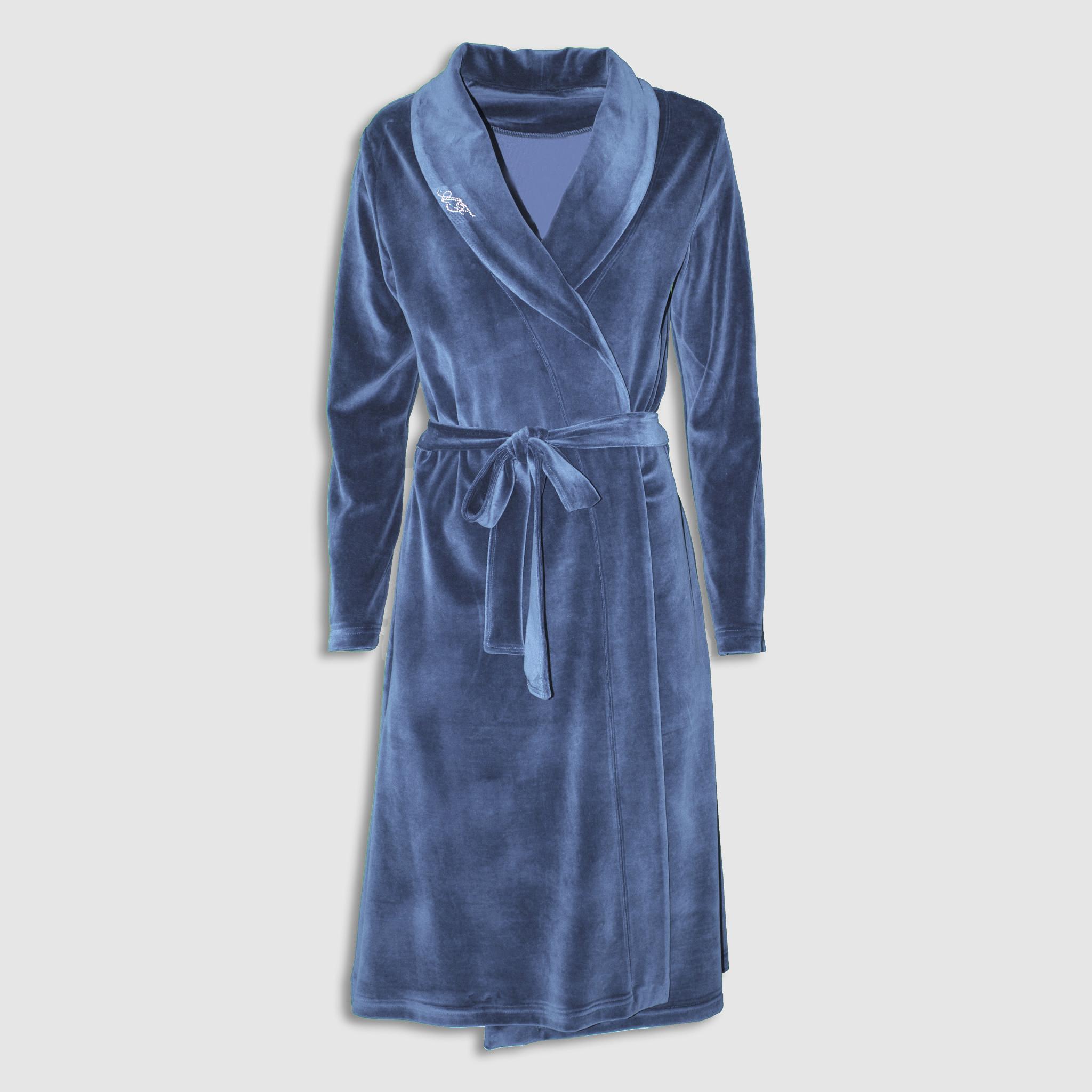 311d3ef39a ... Plush Dressing Gown. 🔍. Плюшен халат на аффект с шал яка