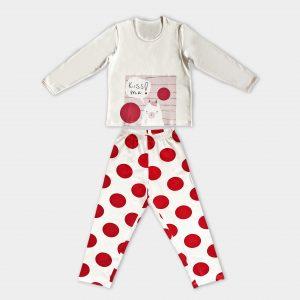 детска пижама на точки
