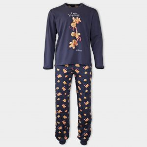 Мъжка коледна пижама на курабийки