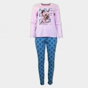 Пижама с кученце Йорки