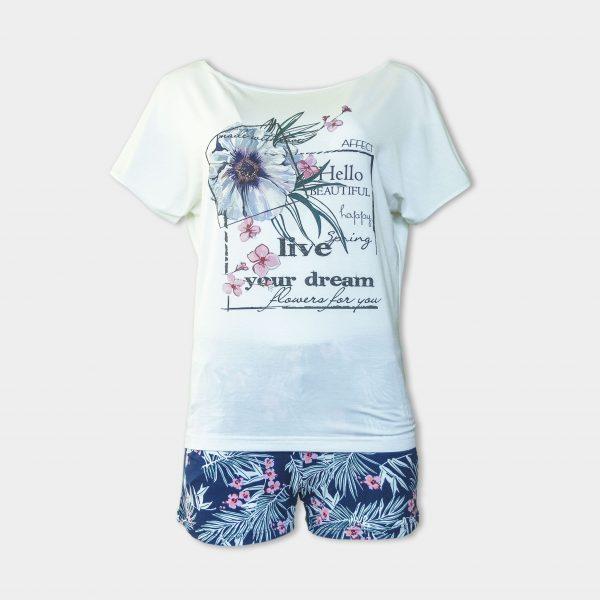 лятна пижама от микромодал