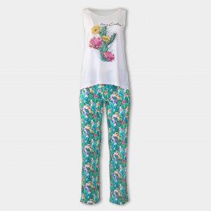Пижама от микромодал с потник