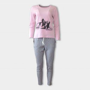 Пижама за любители на френски булдок
