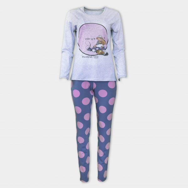 мека и удобна пижама от най-модерен материал - памук-модал