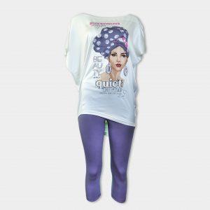 Пижама с уникален дизайн