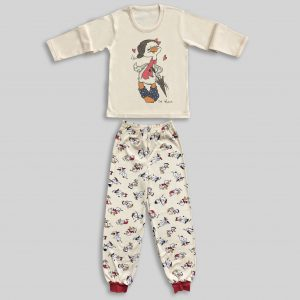 "Children`s Pajamas ""Duck with a hat"""
