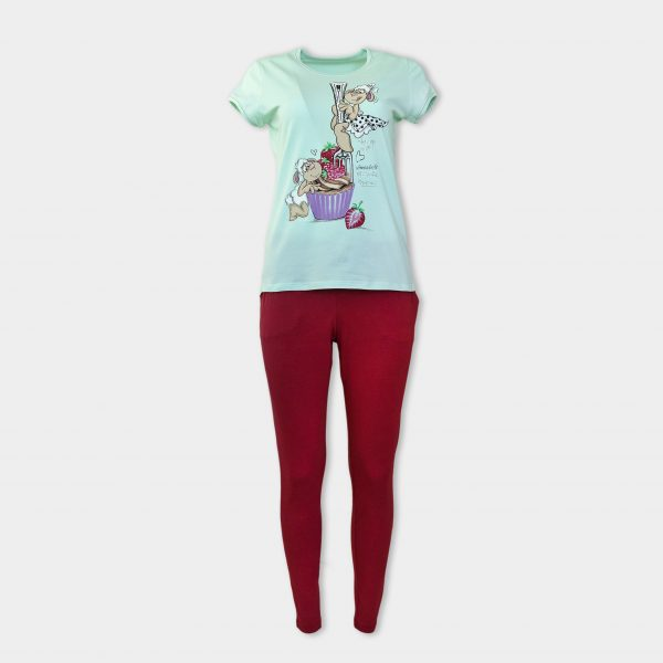 women pjs made of cotton and modal