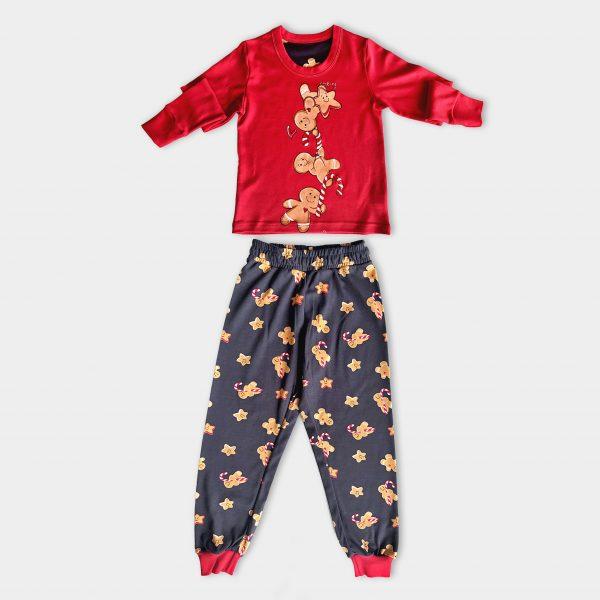 Детска коледна пижама