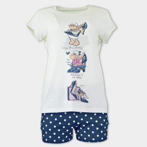 Лятна пижама от микромодал на АФФЕКТ
