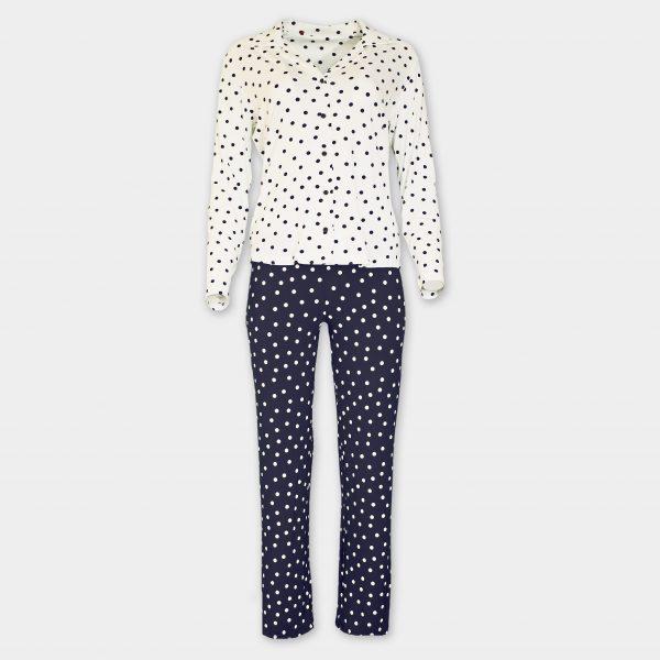 Пижама на точки с копчета