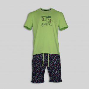 """Мъжка лятна пижама """"SKATEBOARD"""""""