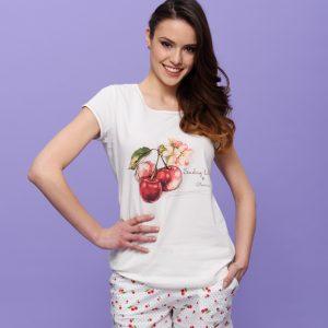 "Дамска лятна пижама "" Cherry Blossom"""