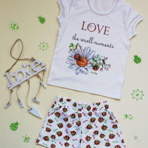 "Детска пижама ""Ladybug Garden"""