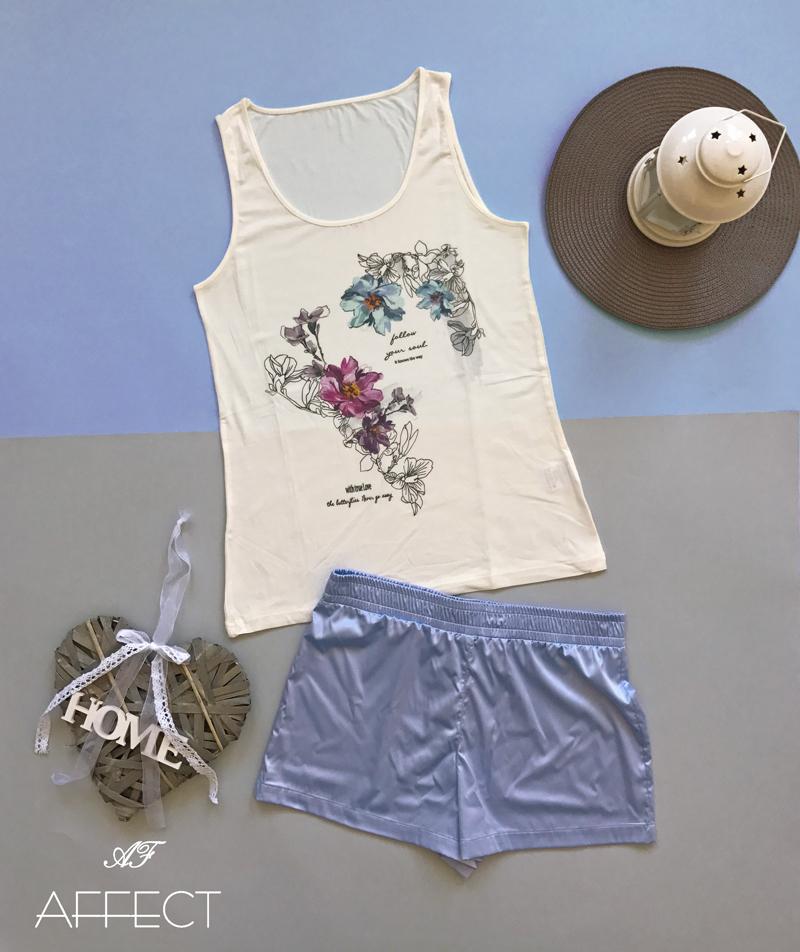 """Summer ladies pyjama """"Flowers"""""""