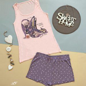 "Лятна дамска пижама  ""Shoe Love"""