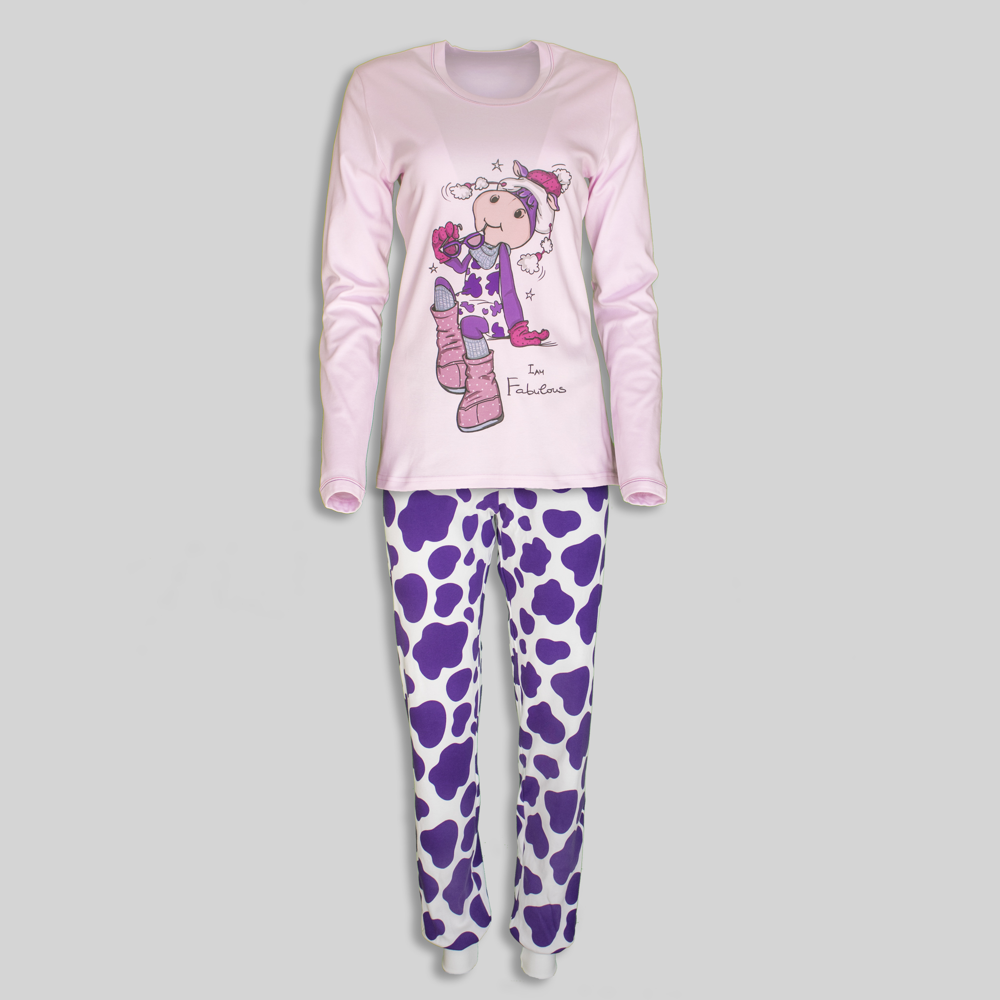 "Women`s Pajama ""Happy Cow"""