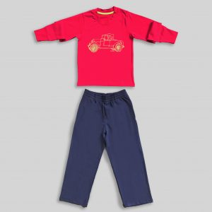"Children`s Pajamas ""Retro Car 2"""