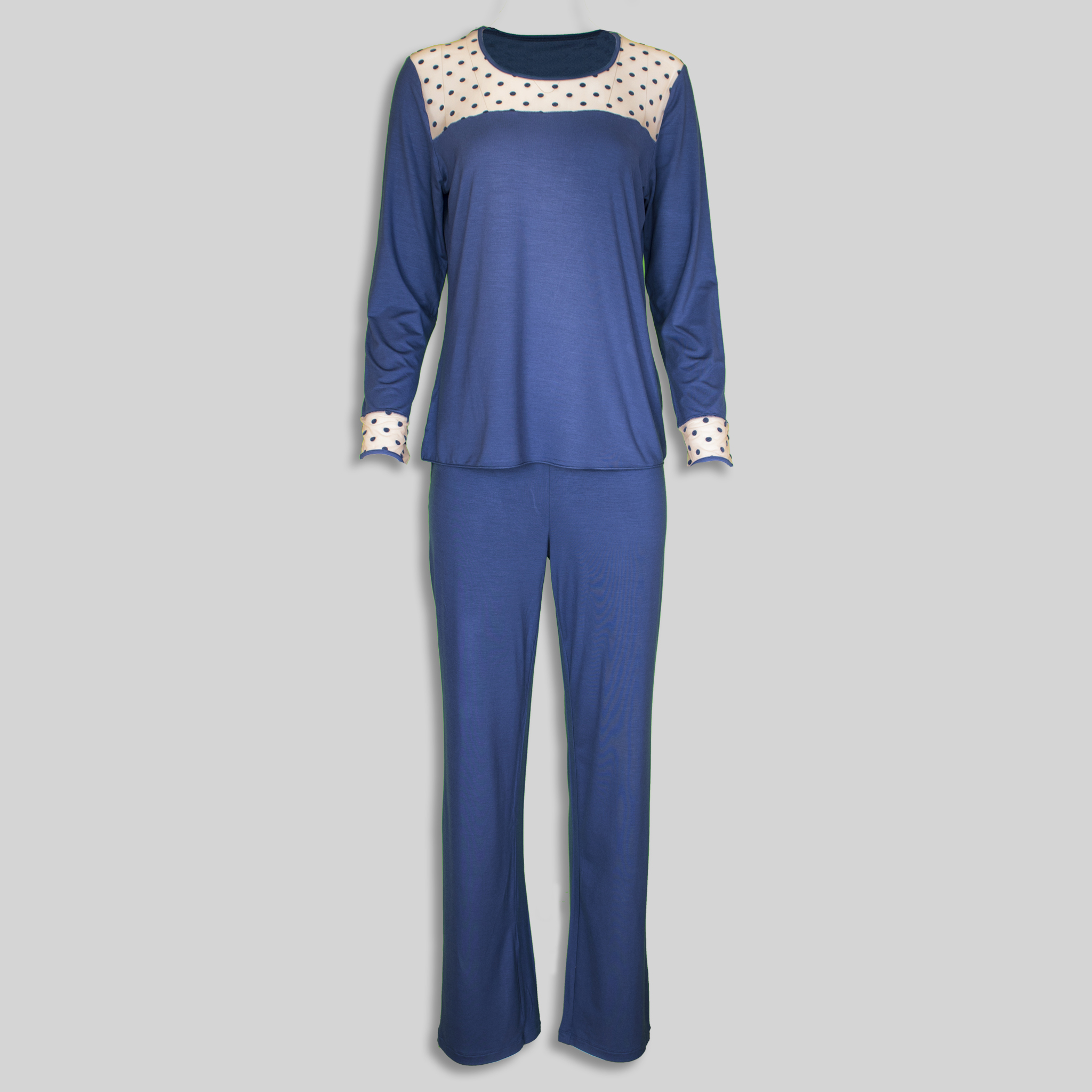 "Ladies Pajama ""Infinity Polka Dots"""