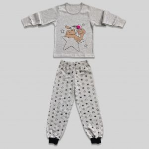 "Childrens pajama ""Counting Stars Grey"""