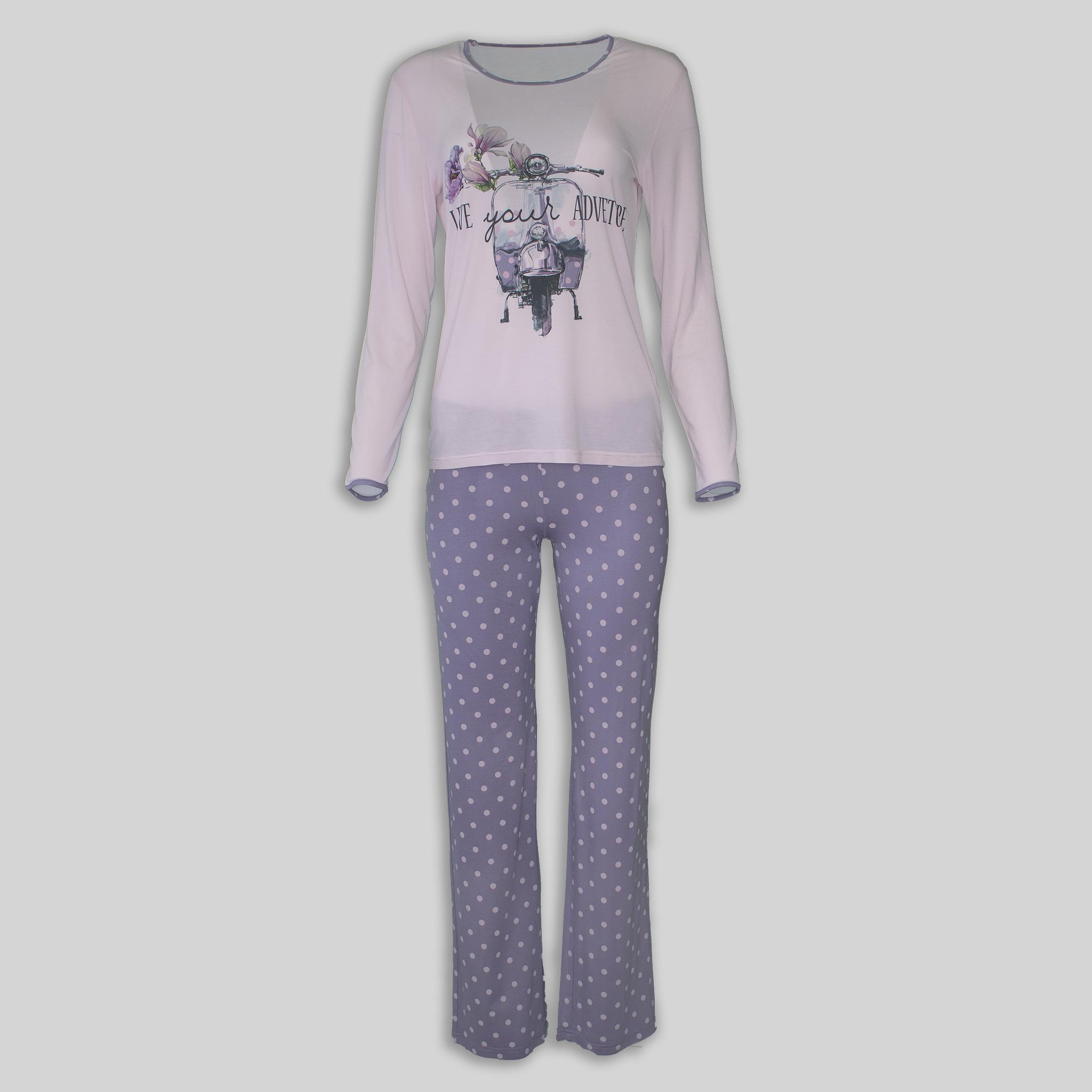 "Ladies Pajama ""Pink Adventure"""