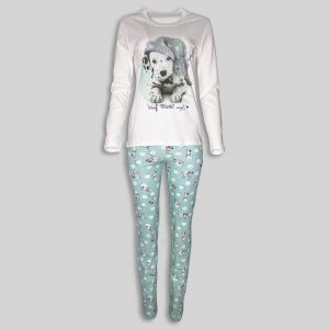 "Women`s Pajama ""Dalmatian dog"""