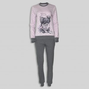 "Women`s Pajama ""Beatiful Puppy"""