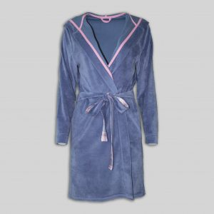 "Home Plush Dressing Gown ""Cozy"""