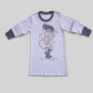 "Children`s Nightdress ""Happy Sheep"""