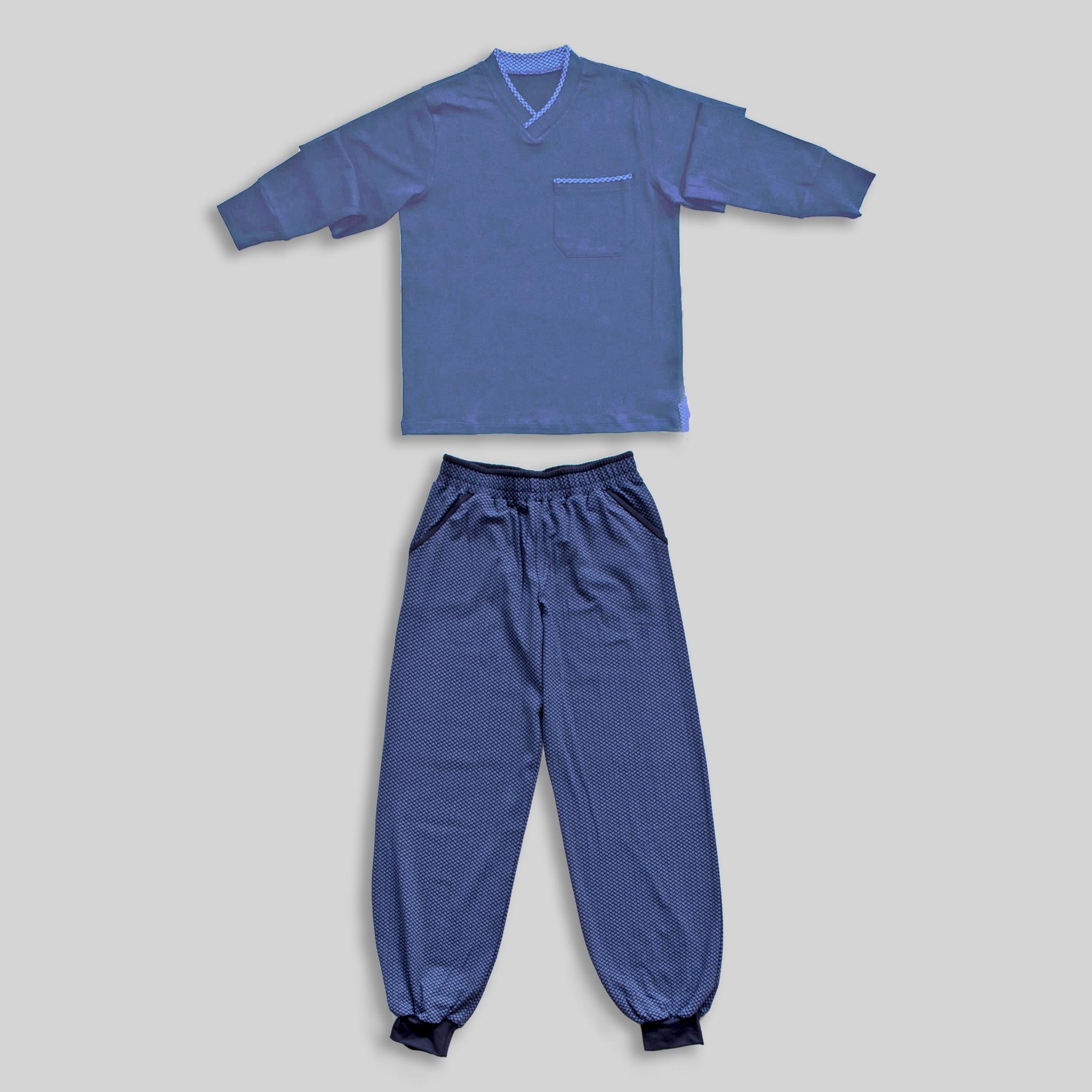 "Children`s Pajamas ""Elegance in Blue"""