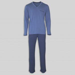 """Мъжка пижама """"Elegance in Blue"""""""