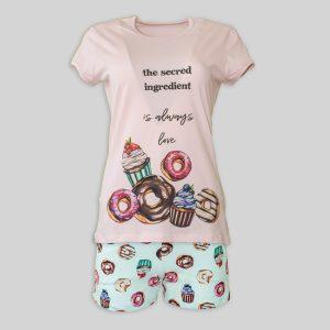 """Дамска лятна пижама """"Sweet Life"""""""