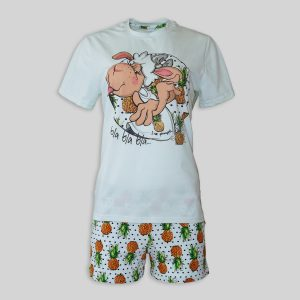 "Women`s Pajamas ""Sheep Loves Ananas"""