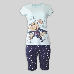 "Women`s pajamas ""SHEEP IN LA"""