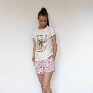 Пижама лято с йорки